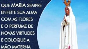 Que Maria Sempre Enfeite sua Alma